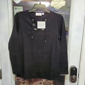 2 new quacker factory laced long sleeve bundle top
